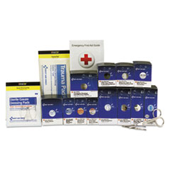 FAO 90692 First Aid Only Medium Metal SmartCompliance Food Service Refill Pack FAO90692