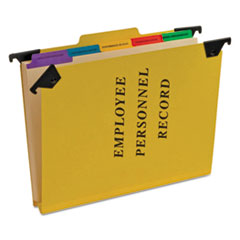 PFX SER2YEL Pendaflex Personnel Folders PFXSER2YEL