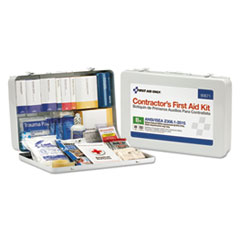 FAO 90671 First Aid Only Contractor ANSI Class B First Aid Kit FAO90671