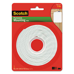 MMM 112L Scotch Permanent High-Density Foam Mounting Tape MMM112L