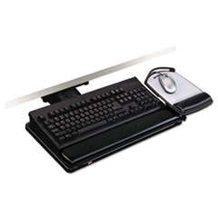 MMM AKT101LE 3M Lever-Adjust Keyboard Tray with Highly Adjustable Platform MMMAKT101LE