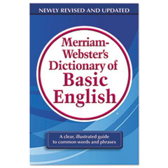 MER 7319 Merriam Webster Dictionary of Basic English MER7319