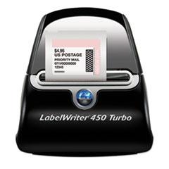 LabelWriter Turbo Printer, 71 Label/Min, 5w x 7 2/5d x 5 1/2h