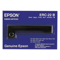 EPS ERC22B Epson ERC22B Dot Matrix Printer Ribbon EPSERC22B