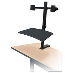 BLT 91114 BALT Up-Rite Desk Mounted Sit-Stand Workstation BLT91114
