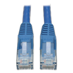 TRP N201010BL Tripp Lite CAT6 Snagless Molded Patch Cable TRPN201010BL