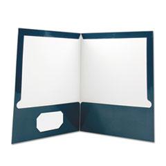 UNV 56418 Universal Laminated Two-Pocket Folder UNV56418