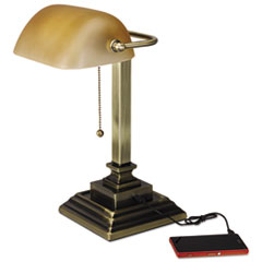 ALE LMP517AB Alera Banker's Lamp ALELMP517AB