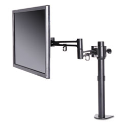ALE AEMA1B Alera AdaptivErgo Pole-Mounted Monitor Arm ALEAEMA1B