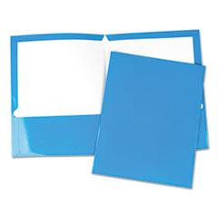 UNV 56419 Universal Laminated Two-Pocket Folder UNV56419