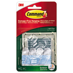 MMM 17017CLRAWES Command All Weather Hooks and Strips MMM17017CLRAWES