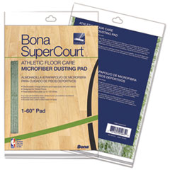 BNA AX0003500 Bona SuperCourt Athletic Floor Care Microfiber Dusting Pad BNAAX0003500
