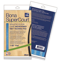 BNA AX0003499 Bona SuperCourt Athletic Floor Care Microfiber Wet Tacking Pad BNAAX0003499