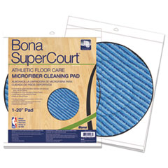 BNA AX0003502 Bona SuperCourt Athletic Floor Care Microfiber Cleaning Pads BNAAX0003502