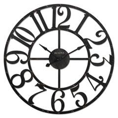 BUL C4821 Bulova Gabriel Wall Clock BULC4821