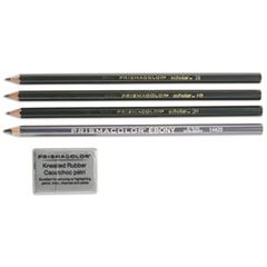 SAN 2502 Prismacolor Scholar Graphite Pencil Set SAN2502