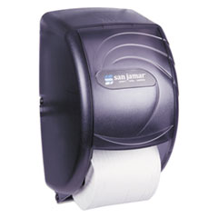 SJM R3590TBK San Jamar Duett Standard Bath Tissue Dispenser SJMR3590TBK