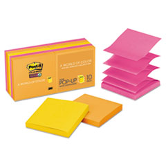 Pop-up 3 x 3 Note Refill, Rio de Janeiro, 90 Notes/Pad, 10 Pads/Pack