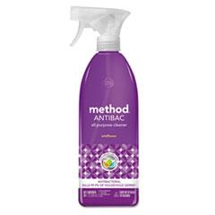 Antibac All-Purpose Cleaner, Wildflower, 28 oz Spray Bottle
