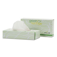 APM 324330 Resolute Tissue Green Heritage Professional Facial Tissue APM324330