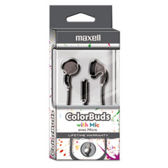 MAX 199712 Maxell Colorbuds with Microphone MAX199712