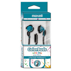 MAX 199711 Maxell Colorbuds with Microphone MAX199711