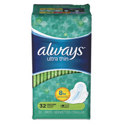 PGC 95251PK Always Ultra Thin Pads with Wings PGC95251PK