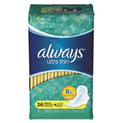 PGC 30656PK Always Ultra Thin Pads with Wings PGC30656PK