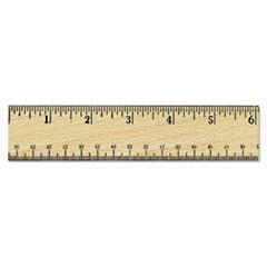 UNV 59021 Universal Flat Wood Ruler UNV59021