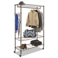 ALE GR364818BL Alera Wire Garment Rack ALEGR364818BL