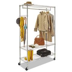 ALE GR364818SR Alera Wire Garment Rack ALEGR364818SR