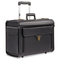 BND 456110BLK STEBCO Bond Street Collection Catalog Case on Wheels BND456110BLK