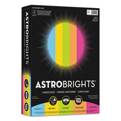 "WAU 99904 Astrobrights Color Cardstock -""Bright"" Assortment WAU99904"