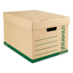 UNV 28223 Universal Recycled Medium-Duty Record Storage Box UNV28223