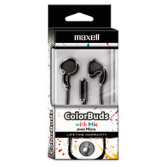 MAX 199708 Maxell Colorbuds with Microphone MAX199708