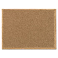 BVC SF152001239 MasterVision Value Cork Board with Oak Frame BVCSF152001239