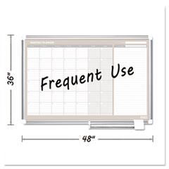 BVC GA05105830 MasterVision Magnetic Dry Erase Calendar Board BVCGA05105830