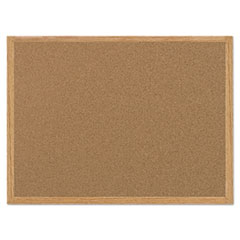 BVC MC070014231 MasterVision Value Cork Board with Oak Frame BVCMC070014231