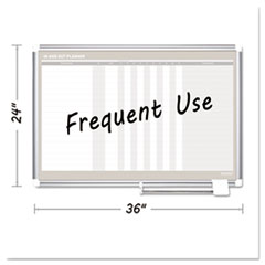 BVC GA01110830 MasterVision In-Out Magnetic Dry Erase Board BVCGA01110830