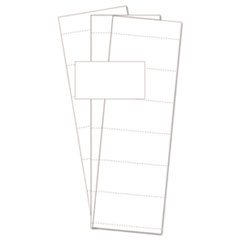 BVC FM1513 MasterVision Data Card Paper Inserts BVCFM1513