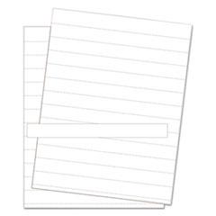 BVC FM1615 MasterVision Data Card Paper Inserts BVCFM1615