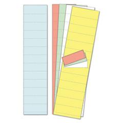 BVC FM1312 MasterVision Data Card Paper Inserts BVCFM1312