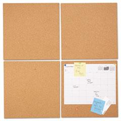 UNV 43404 Universal Cork Tile Panels UNV43404