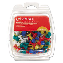 UNV 31310 Universal Colored Push Pins UNV31310