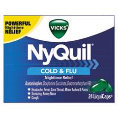 PGC 01440BX Vicks NyQuil Cold & Flu Nighttime LiquiCaps PGC01440BX