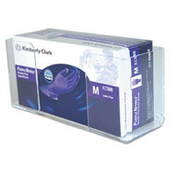 UMI CCG1061004 Unimed Clear Acrylic Wall-Mount Glove Box Holder UMICCG1061004