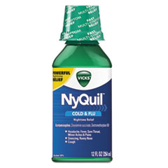 PGC 01426EA Vicks NyQuil Cold & Flu Nighttime Liquid PGC01426EA