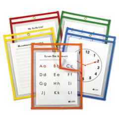 CLI 42630 C-Line Reusable Dry Erase Pockets CLI42630