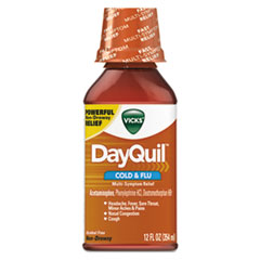 PGC 01436EA Vicks DayQuil Cold & Flu Liquid PGC01436EA