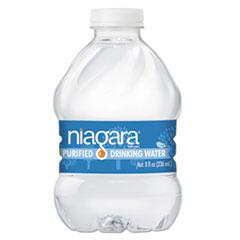 NGB 8OZ24PLT Niagara Bottling Purified Drinking Water NGB8OZ24PLT